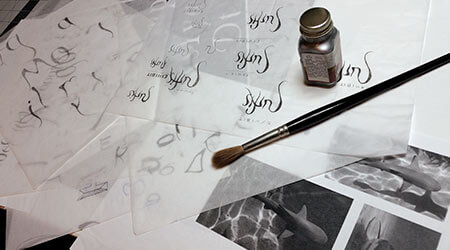 Bridget Kilgallon Surface Project Process Sketches Typeface Design